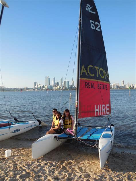 Catamaran Perth Australia by Funcats Sail Boat Kayak Hire On The Swan River Perth