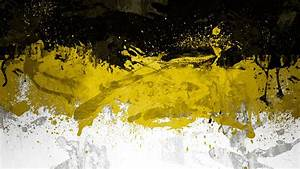 Black White and Yellow Wallpaper - WallpaperSafari