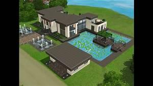 Haus Mit 2 Wohnungen Bauen : sims 3 haus bauen let 39 s build gro es modernes haus mit pool und teich youtube ~ A.2002-acura-tl-radio.info Haus und Dekorationen