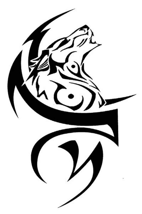 60+ Tribal Wolf Tattoos Designs And Ideas