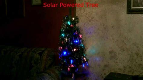 correct way to string lights on christmas tree solar powered christmas lights christmas tree simple diy