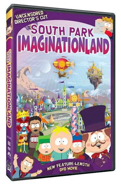 Barnes And Noble Dvd by South Park Imaginationland By Trey Matt