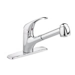 pull spray kitchen faucet shop american standard reliant stainless steel 1 handle