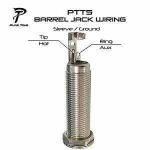 Pure Tone Nickel Mono  U0026 Stereo 1  4 U2033 Barrel Jack