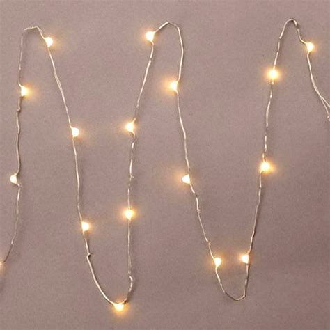 everlasting glow led light strings everlasting glow led micro light string 18 warm white 36