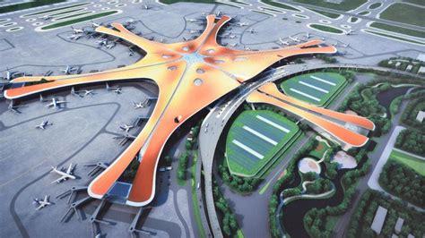 Neuer Flughafen Peking by China Neuer Flughafen Peking Entsteht Im Eiltempo Welt