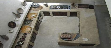 cocinas de cemento pulido de moda la casa de pinturas