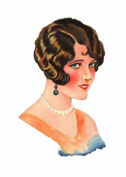 Lady 1920 1920s Retro Flapper Digital Save