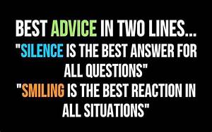 Silence Quotes   Smiling Quotes -Best Advice - Reklamador.com