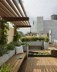 uberdachte terrasse 50 top ideen fur With markise balkon mit tapet living modern
