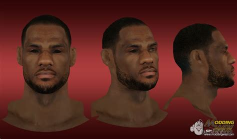 nba  lebron james cyberface patch  afro  released