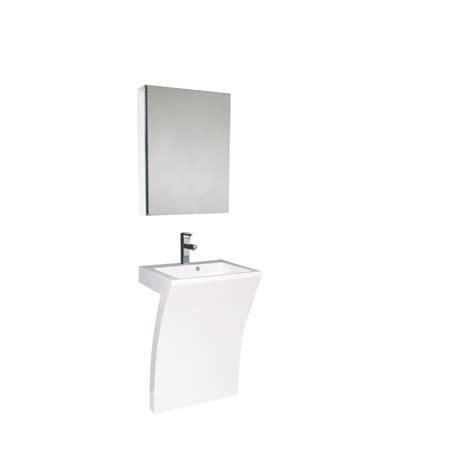 22 inch vanity with sink 22 5 inch white modern pedestal sink bathroom vanity with