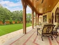 excellent tuscan patio decor ideas Private Residence - Mediterranean Tuscan - Mediterranean ...