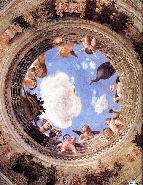 mantegna degli sposi mantegna ceiling oculus in the degli sposi mantova