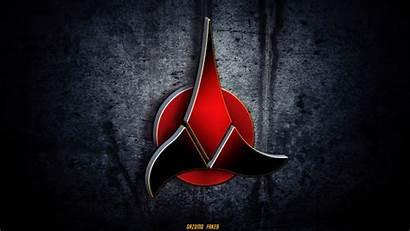 Klingon Trek Star Deviantart Symbol Gazomg Wallpapers