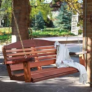 Holz Im Garten : perfekte holz schaukel im garten 10 coole aktuelle ideen ~ Frokenaadalensverden.com Haus und Dekorationen