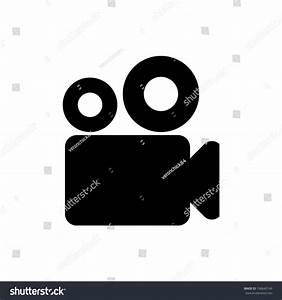 Video Camera Icon Vector Stock Vector 168642149 - Shutterstock