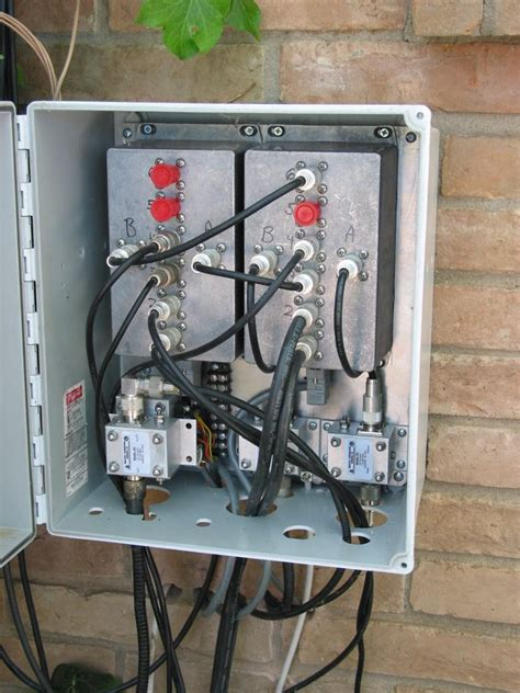 Exterior Cable Tv Wiring Box by K5lxp S Hamshack