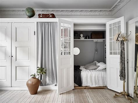 Bedroom In Closet by Bright Home With A Bedroom Coco Lapine Designcoco