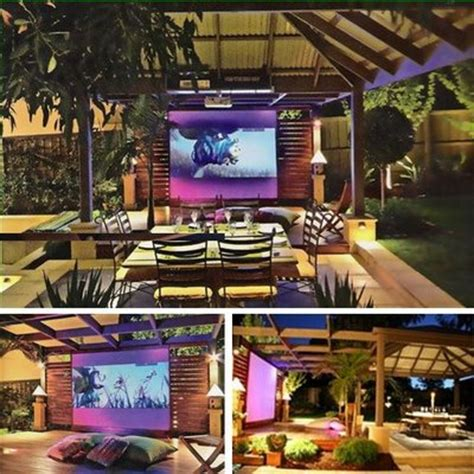 Backyard Home Theater by 5 Stunning Outdoor Home Theaters Hooked Up Installs