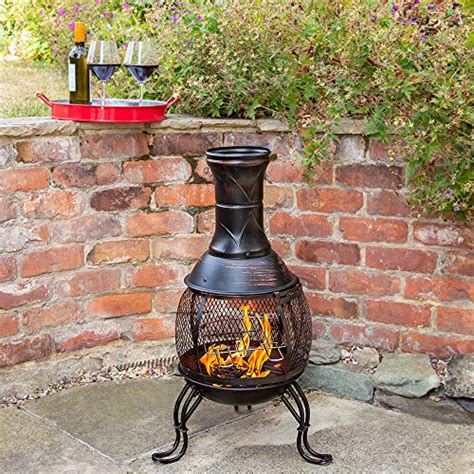 Best Chiminea Reviews - 10 best chimineas for 2018 clay cast iron steel