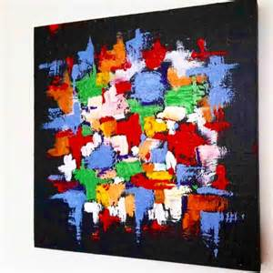 peinture acrylique moderne abstrait peinture acrylique sur toile moderne palzon