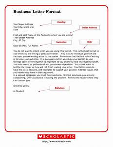 How To Compose A Professional Email 35 Formal Business Letter Format Templates Examples ᐅ