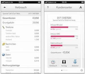 Www Telekom De Rechnung Kundencenter : telekom kundencenter 3 0 endlich wird das verbrauchte datenvolumen angezeigt macerkopf ~ Themetempest.com Abrechnung