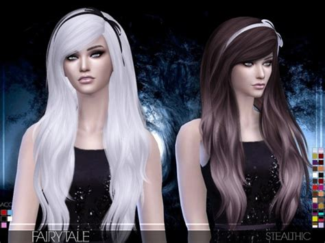 You are currently browsing sims 4 • flour • custom content. Sims 4 Hairs ~ Stealthic: Fairytale hairstyle