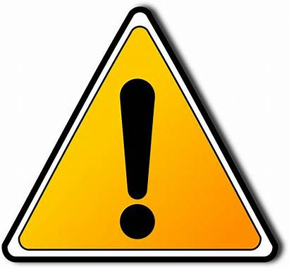 Clipart Warning Attention Sign Safety Improvement Resolution