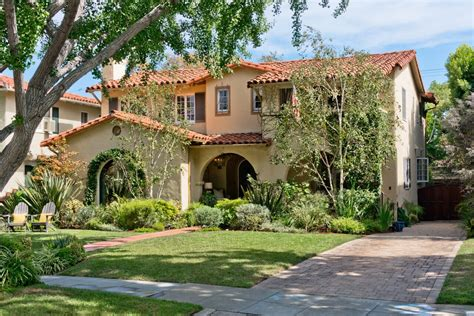An Updated Spanishstyle Home For Sale In San Marino
