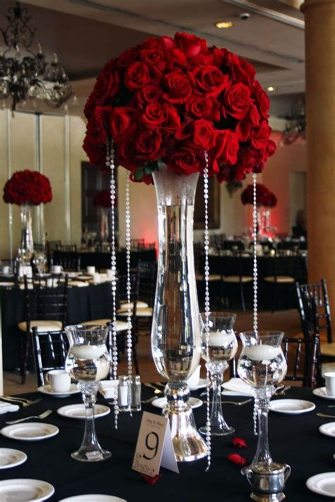 25 Best Ideas About Red Wedding Centerpieces On Pinterest