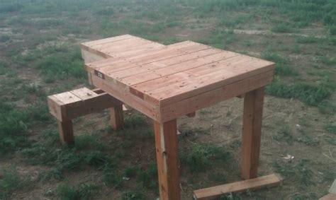 woodwork shooting bench plans wood  plans