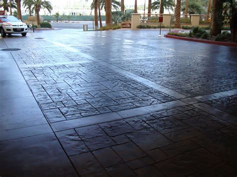 Alternative to Brick, Stone, Pavers : Stamped Concrete