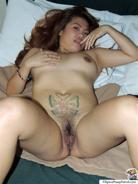 karen chubby filipina pussy gets a hairy creampie