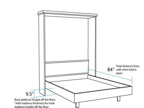 murphy bed elsa drop table wall bed and desk wall bed factory
