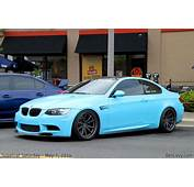 Baby Blue BMW M3 Coupe  BenLevycom
