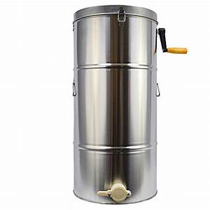 Enshey Two 2 Frame Stainless Steel Honey Extractor Manual