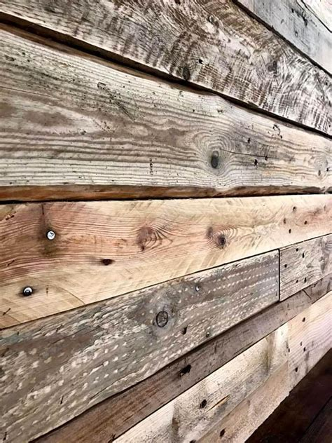 DIY Pallet Wall Paneling / Wall cladding   Pallets Pro