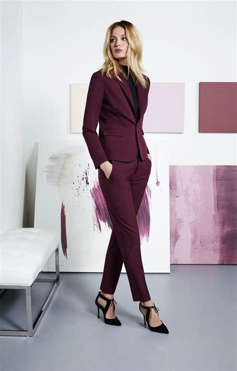 tenue de bureau femme le tailleur femme chic plus de 100 idées de look pour