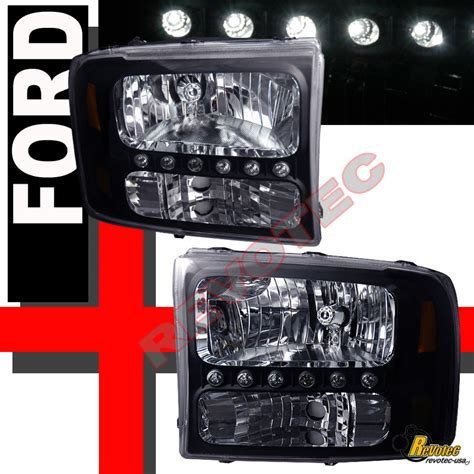 find 1999 2004 ford f 250 f 350 duty led headlights