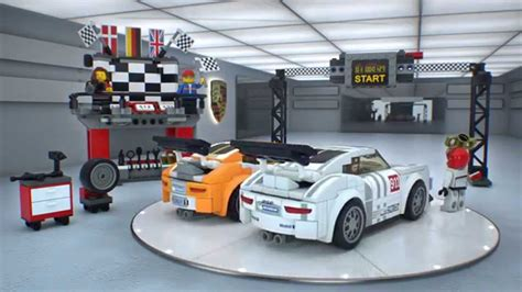 lego speed chions porsche lego 75912 speed chions porsche 911 gt finish line lego 3d review
