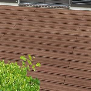 Lame Terrasse Composite : lame terrasse composite marron ~ Premium-room.com Idées de Décoration