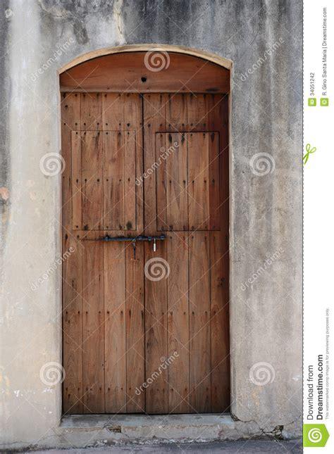 wooden door stock photography image