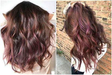 variasi warna rambut coklat dark brown
