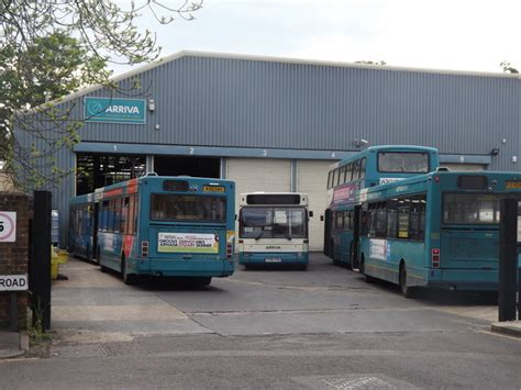 guildford bus depot  colin smith geograph britain  ireland