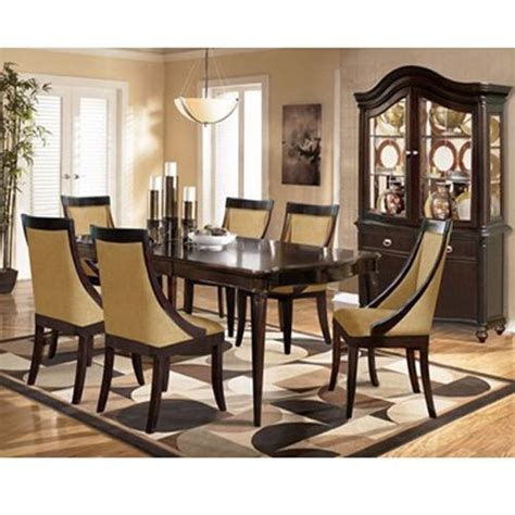 aarons dining room tables riversedge 5 avenue dining room home inspired