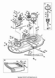 Troy Bilt 13wn77ks011 Pony  2013  Parts Diagram For Mower