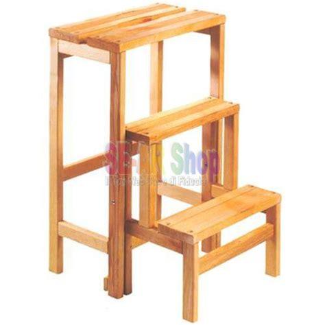 scaletta sgabello 14861 scaletta sgabello legno gradini 3 n d
