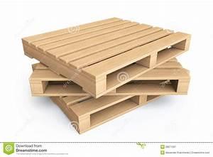 Palette Bois Gratuite : concept logistique palettes en bois photos stock ~ Melissatoandfro.com Idées de Décoration